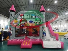 Custom Inflatables Party Hire Inflatable Super Mario Mini Bouncer