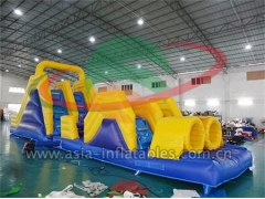 Outdoor Inflatable Obstacle Course Run Games & Customized Yours Today