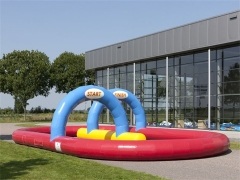 Wholesale Inflatable Racing Track ,Go Karts Track,Inflatable Race Track Game High Quality in Factory Price