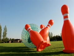 Inflatable Human Bowling